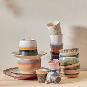 Keramikkrus og kopper