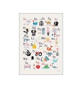 Poster and Frame - Kai ABC, 50*70