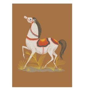 Aparte - Llew Mejia, Spanish Horse 50*70