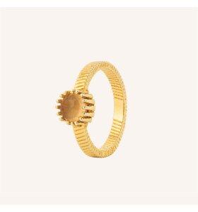 Vincent - Ring Fortune Teller, Citrin