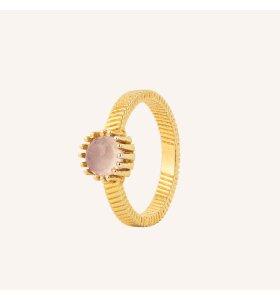 Vincent - Ring Fortune Teller, Rosakvarts