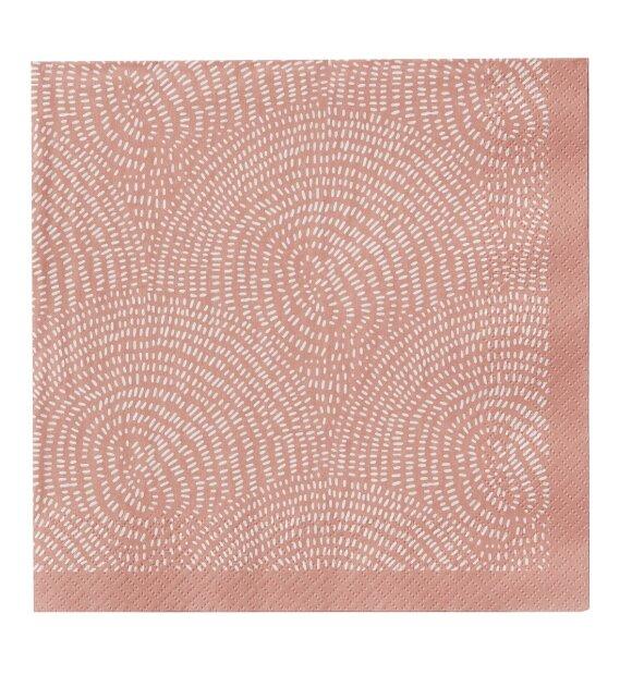 BUNGALOW - Papirservietter Zen Blush, 50stk.
