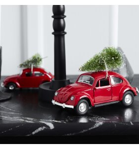 House Doctor - X-mas Minibil, Rød