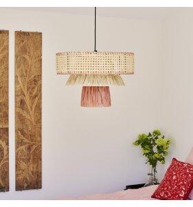 Jore Copenhagen - Pendel Triple Cane, Brick/natur