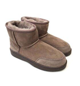 New Zealand Boots - Støvle ultrakort vinter, Taupe