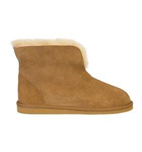 New Zealand Boots - Classic Slipper, Cognac