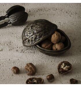 ferm LIVING - Forest Nut Box, Antik Messingfinish