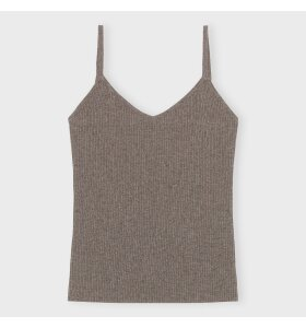 Care By Me - Top Heather, Dusty brown melange