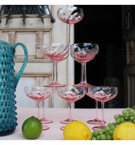 Anna von Lipa - Champagneskål Limoux, Rosa