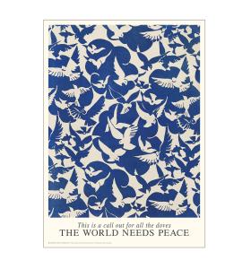 Permild og Rosengreen - Doves of Peace, 42*59,4