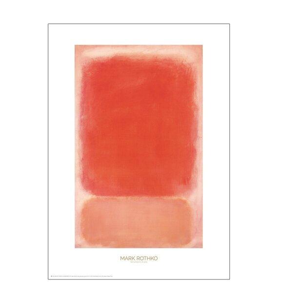 Permild og Rosengreen - Red and pink on pink, 50*70