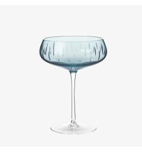 Louise Roe - Champagneskål, Blå