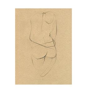 The Poster Club - Ekaterina Koroleva Nude 02, 40*50