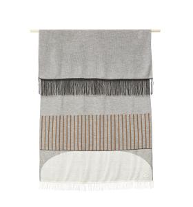 Form & Refine - Aymara Plaid, Pattern Grey