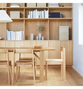 Form & Refine - Blueprint stol hvidolieret eg - Hent selv