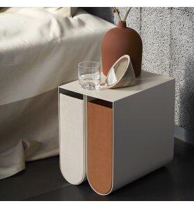 Kristina Dam - Curved Box Grå, Small